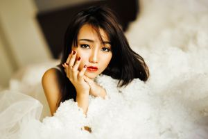 face asian model women