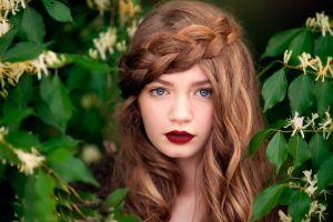 face blue eyes women