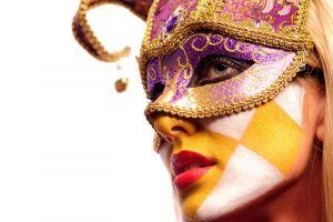 face face paint venetian masks model