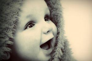 face happy baby