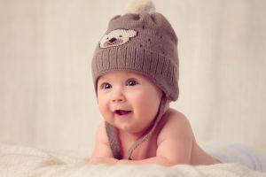face hat baby children