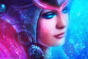 face nami (league of legends) women eyes league of legends