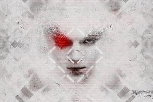 face to face illuminati triangle face