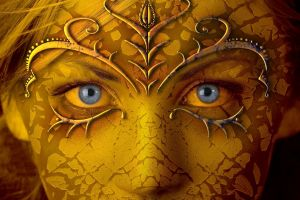 face women blue eyes fantasy art fantasy girl artwork