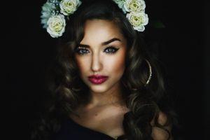face women model portrait