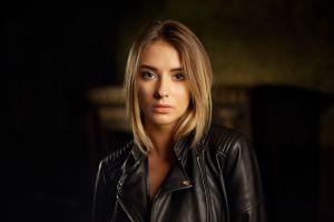 face women portrait blonde