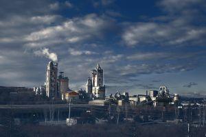 factories industrial smoke