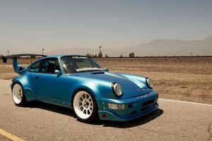 falken sports car blue cars porsche