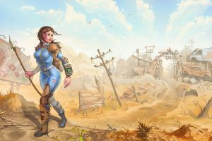 fallout artwork video games