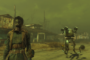 fallout fallout 4 bethesda softworks robot sanctuary