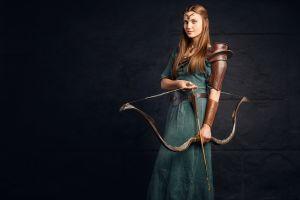 fantasy art archer archery model women cosplay