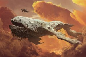 fantasy art artwork leviathan
