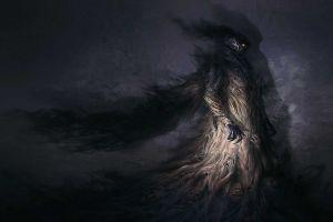 fantasy art dark creature