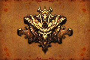 fantasy art demon gold
