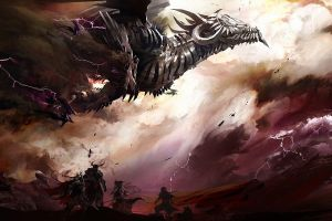 fantasy art dragon guild wars 2 video games guild wars concept art