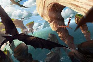 fantasy art dragon how to train your dragon how to train your dragon 2 artwork