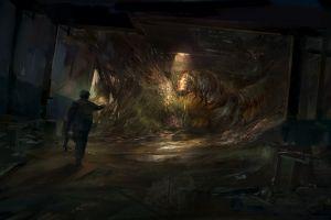 fantasy art insect artwork digital art