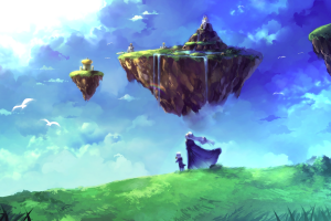 fantasy art video games chrono trigger