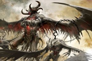 fantasy art video games guild wars guild wars 2 demon