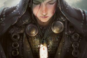 fantasy art warrior magic: the gathering