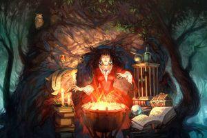 fantasy art witch fantasy girl