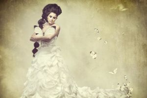 fantasy art women model