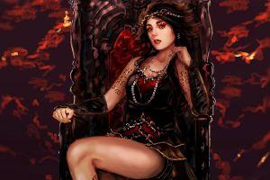 fantasy girl fantasy art artwork
