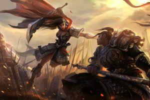 fantasy girl fantasy art battle