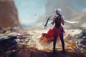 fantasy girl fantasy art fan art