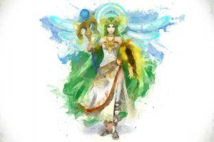 fantasy girl fantasy art super smash brothers artwork