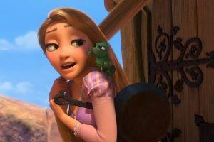 fantasy girl tangled animated movies movies blonde