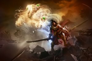 fantasy men weapon sword fantasy art warrior