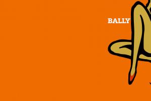 fashion legs 1960s bally orange