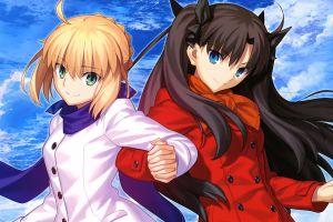 fate series tohsaka rin saber