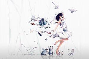 fish penguins fantasy art original characters birds animals cats