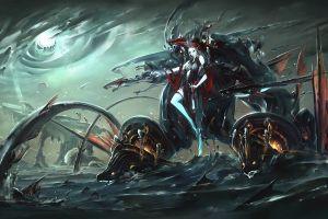 fish sea monsters fantasy art artwork sea