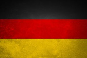 flag germany yellow red black