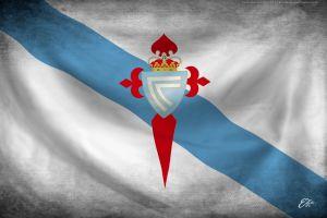flag soccer galicia celta de vigo