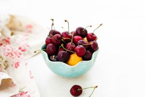 food cherries (food) fruit bowls
