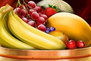 food fruit bananas