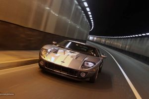 ford car vehicle tunnel ford gt