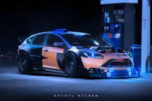 ford focus rs car khyzyl saleem