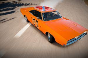 forza horizon drift forza horizon 2 general lee orange cars charger rt forza motorsport