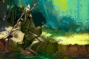 furry fantasy art anthro