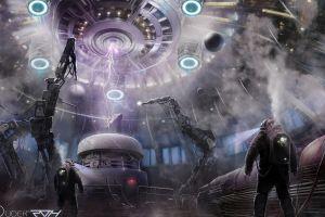 futuristic digital art artwork