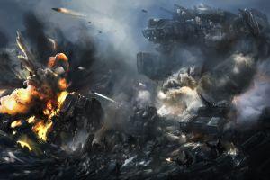 futuristic science fiction artwork