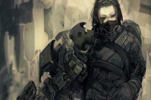 futuristic science fiction cyborg cyberpunk