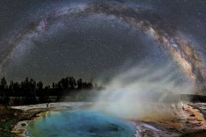 galaxy milky way planet sky science nasa stars