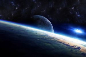 galaxy space planet