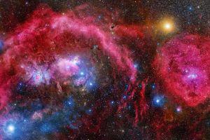 galaxy stars sky nebula nasa
